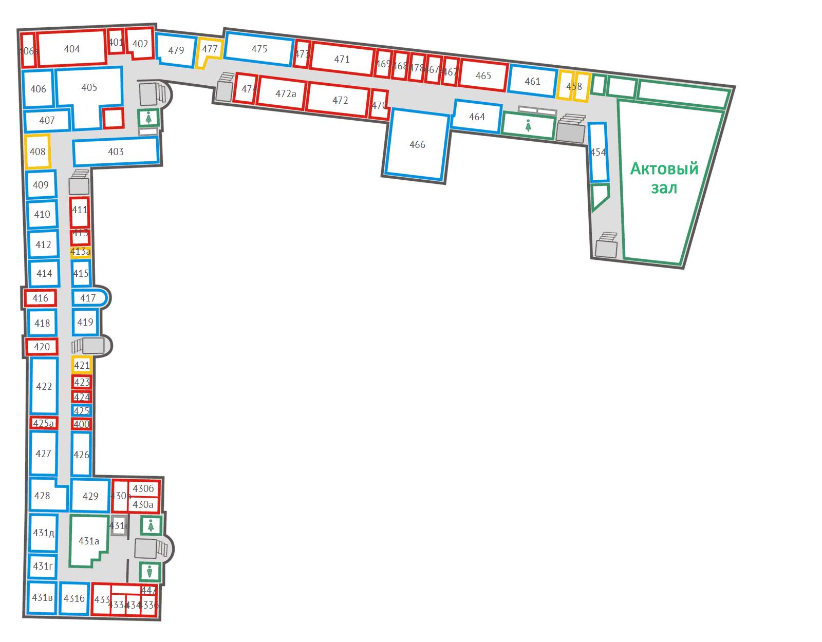 схема корпуса ленсовета гуап
