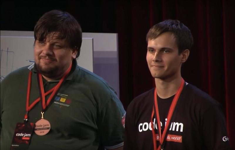 圣光机 (ITMO UNIVERSITY)毕业生第三次成为Google Code Jam竞赛胜利者