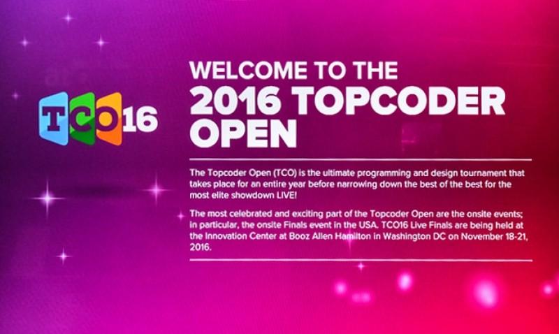 圣光机(ITMO University)硕士生进入TopCoder Open   个人程序设计冠军赛的前六位决赛者