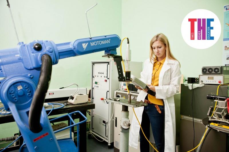 圣光机大学首次进入THE Engineering and Technology学科专业排名