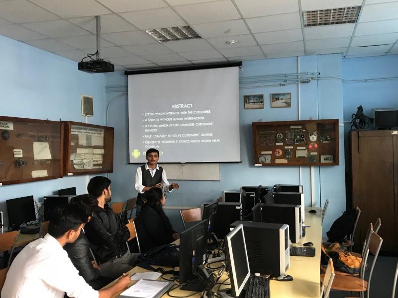 圣光机大学为印度学生顺利举行夏令营