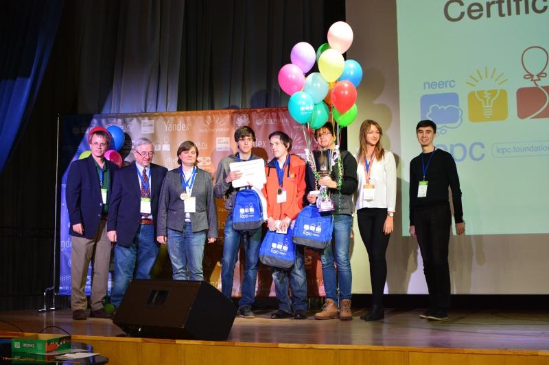 莫斯科和圣彼得堡再次争夺ICPC2019的冠军头衔
