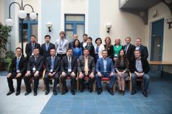 中国青年联合会代表团访问ITMO大学.
