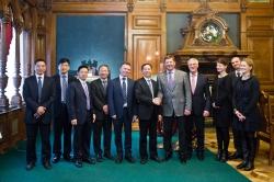5G领域合作:重庆邮电大学代表团访问ITMO大学