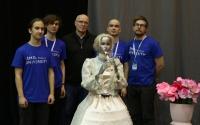 青年机器人实验室在RoboCup Open Russia-2019上展示了一款新机器人