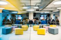 在ITMO大学Kronverkskiy大街主楼开设了学习和工作空间。