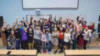 中国高等高校学生参加了圣光大暑期培训班