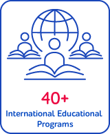 40+ International Educational Programs